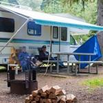 Nakusp Camping Couple